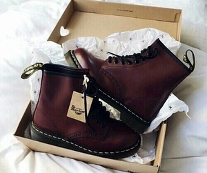 boots, dr marten, and fashion image