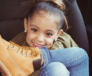 kids, smile, and timberland image