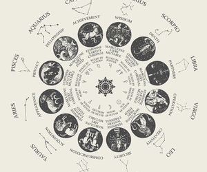 zodiac, virgo, and astrology image