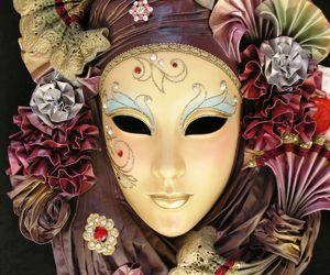 venice, mascara, and mask image