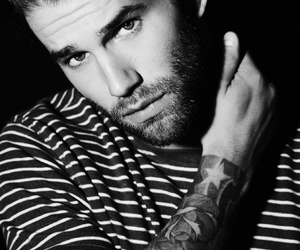 model, tattoo, and andrehamann image