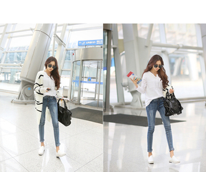 asian fashion, fashion, and jeans image