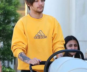 louis tomlinson, one direction, and freddie tomlinson image