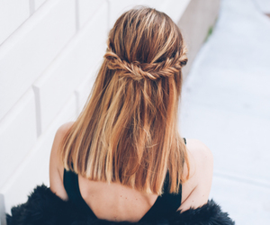 hair, clothes, and outfit image