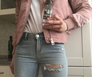 pink, tumblr, and fashion image