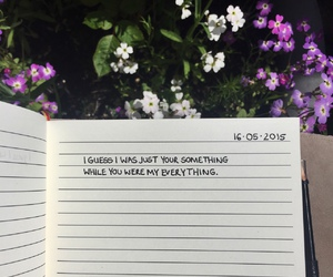 quotes, flowers, and tumblr image