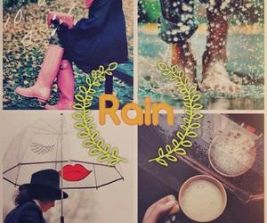 fotos, rain, and sombrilla image