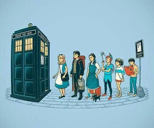 alice, disney, and doctor who image