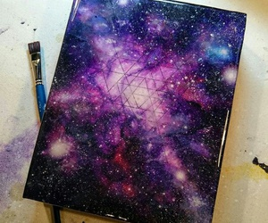 art, colors, and cosmos image
