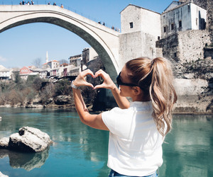 Bosnia, mostar, and love image