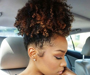 hair, curly, and pretty image