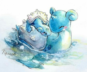 pokemon, lapras, and cute image