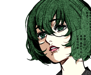aesthetic, draw, and green image