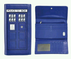 blue box, dr who, and money image