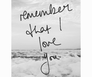 i, love you, and remember image