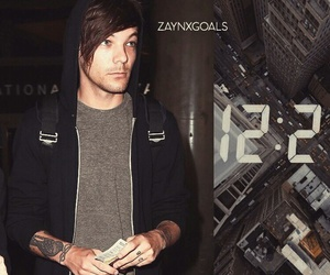 louis tomlinson, one direction, and background image