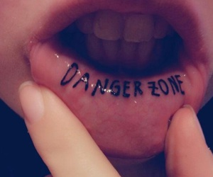 tattoo and danger zone image
