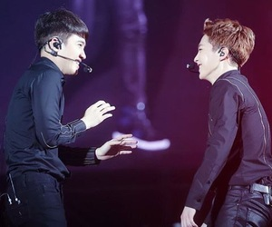 xiumin and exo image