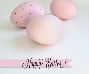 happy easter, easter, and eggs image