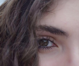 eyes, curlyhair, and girl image
