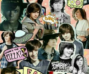 twd, chandler riggs, and wallpaper image
