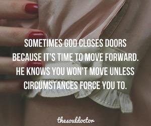 god and door image