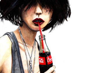 art, coca cola, and coca-cola image