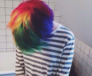 grunge and hair color image
