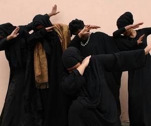 dab, black, and muslim image