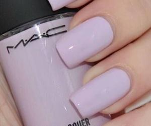 nails, mac, and nail polish image