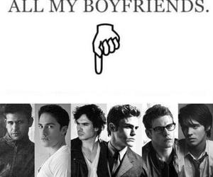 the vampire diaries, tvd, and boyfriend image