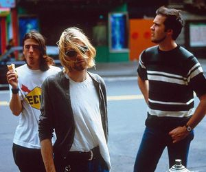 nirvana, kurt cobain, and rock image