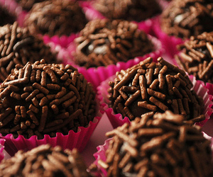 brigadeiro, food, and sweet image