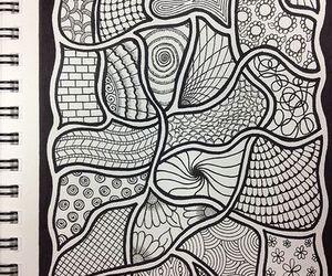 doodle and zentangle image