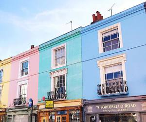 buildings, colorful, and london image