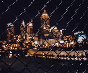 city, black, and theme image