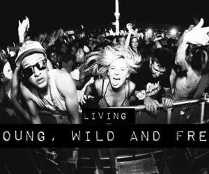 young, wild, and free image