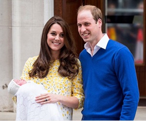 princess, kate middleton, and baby image