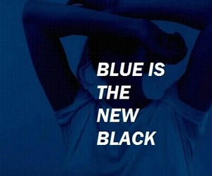 blue, black, and new image