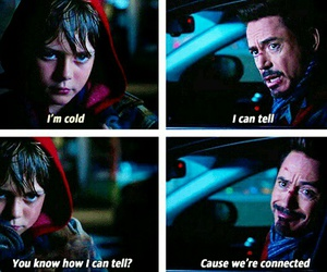 funny and iron man image