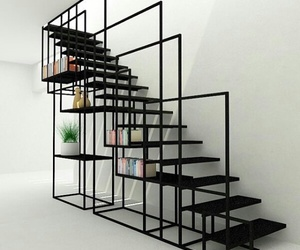 black, design, and house image