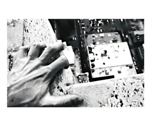 black and white, depression, and hands image