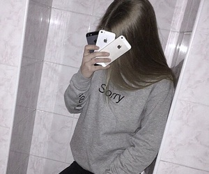 flash, girl, and phones image