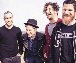 fall out boy, pete wentz, and joe trohman image