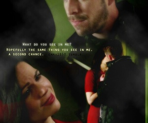 once upon a time and outlaw queen image