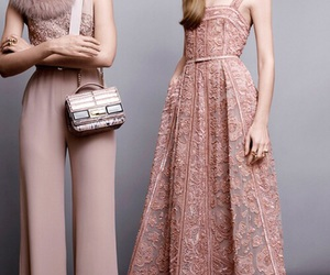 elie saab, fashion, and pink image