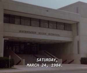 1984, Anthony Michael Hall, and Breakfast Club image