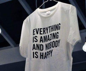 amazing, happy, and t-shirt image