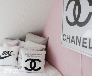 bedroom, chanel, and decor image