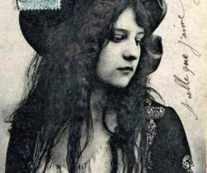 gypsy, postcard, and bohemian image